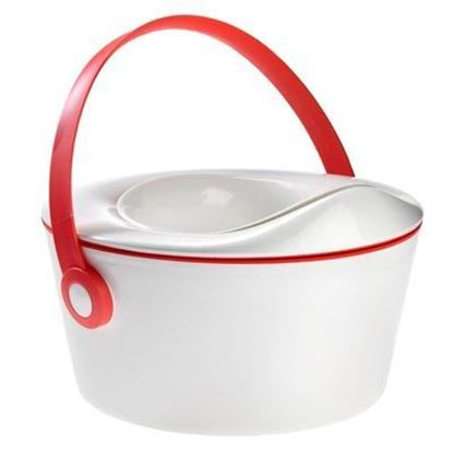 Afbeeldingen van Dot Baby : Dot Pot 3-in-1 - Pink Red