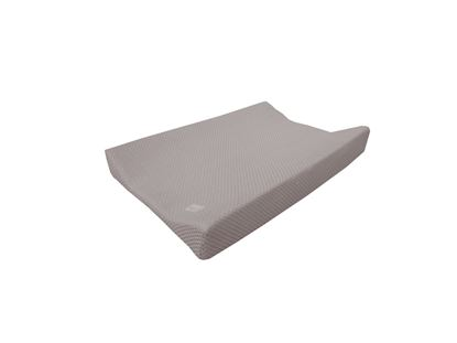 Afbeeldingen van Bamboom : Changing Mat Cover - Square - Taupe