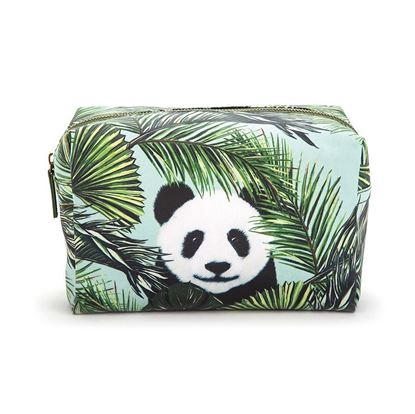 Afbeeldingen van Catseye : Panda in Palms - Wash Bag