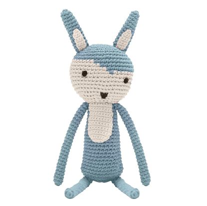 Afbeeldingen van Sebra : Crochet Animal - Rabbit - Cloud Blue