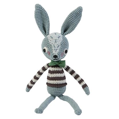 Afbeeldingen van Sebra : Crochet Animal - Rabbit  Robert