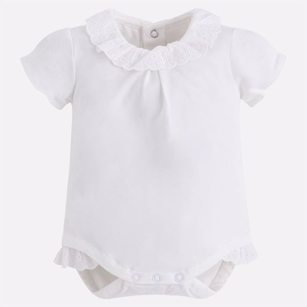 Afbeelding van Mayoral   Short Sleeve Body - Natural f8a3f99d16a