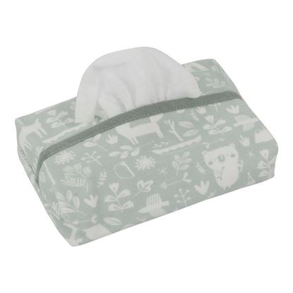 Afbeeldingen van Little Dutch : Baby Wipes Cover - Adventure Mint